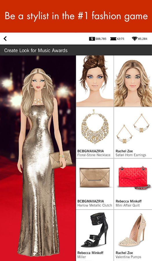 Covet fashion shopping game screenshot Play new fashion style games