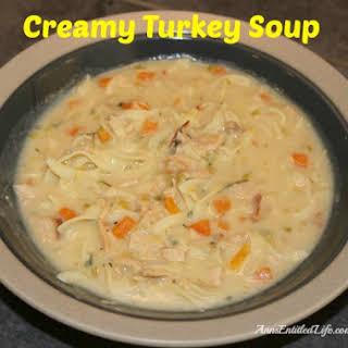 Creamy Turkey Soup.