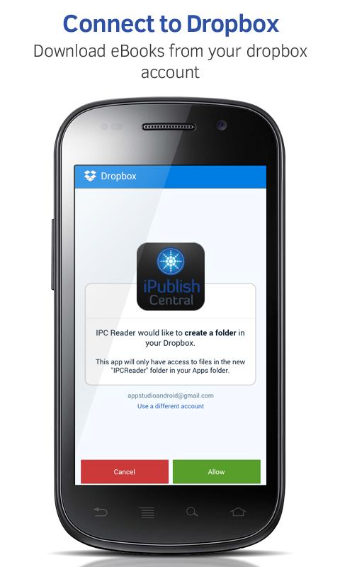 Ipublishcentral Reader Screenshot