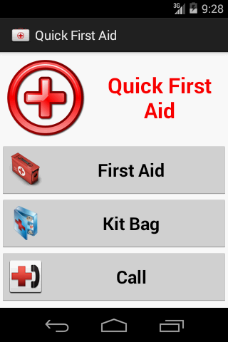 Quick First Aid