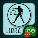 Libra Zodiac Theme for GO SMS icon