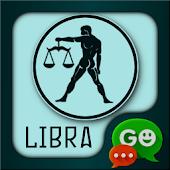 GO SMS Pro Libra Zodiac Theme