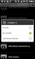 Screenshot of Folder Player