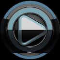 Poweramp skin Black Petrol icon