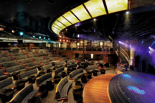 Regent-Seven-Seas-Navigator-Theater - Seven Seas Navigator will keep you entertained with plenty of performances showing in the Theater throughout your journey.