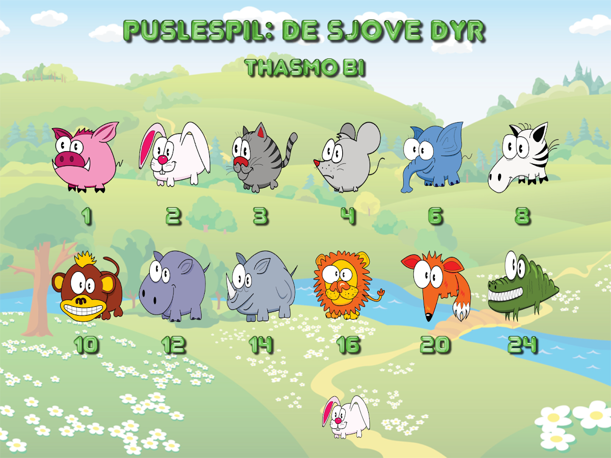 Funny animal puzzle HD Full- screenshot