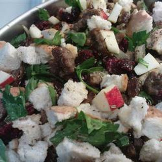 Cranberry, Sausage, and Apple Stuffing
