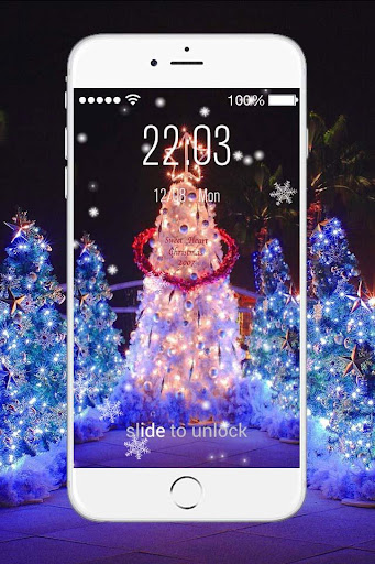 Christmas Live Lock Screen