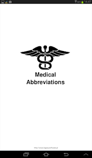 Medical Abbreviations - screenshot thumbnail