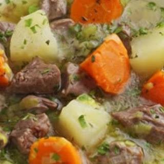 Roasted Root Vegetable Lamb Stew Recipe
