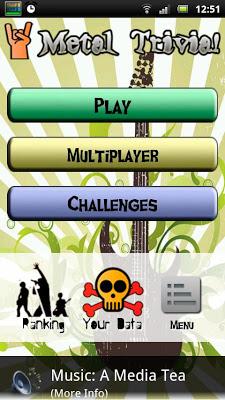 Metal Trivia! - screenshot