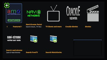 Screenshot of amo Navi-X for Google TV