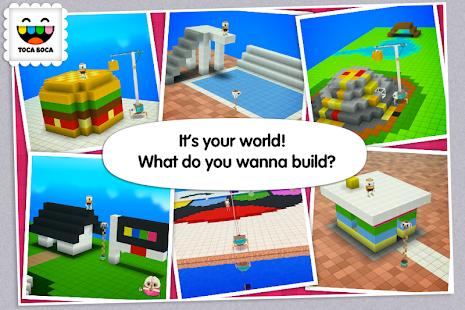Screenshots of Toca Builders for iPhone