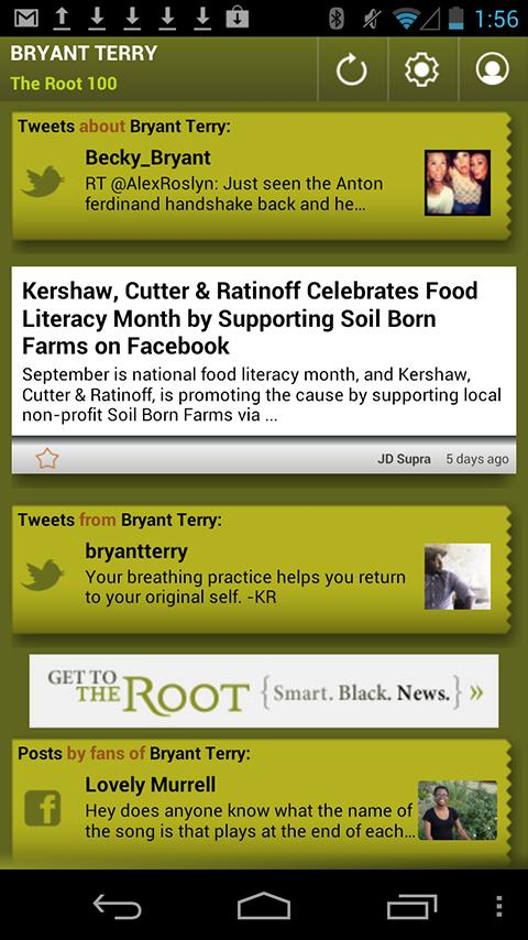 Bryant Terry: The Root 100 - screenshot