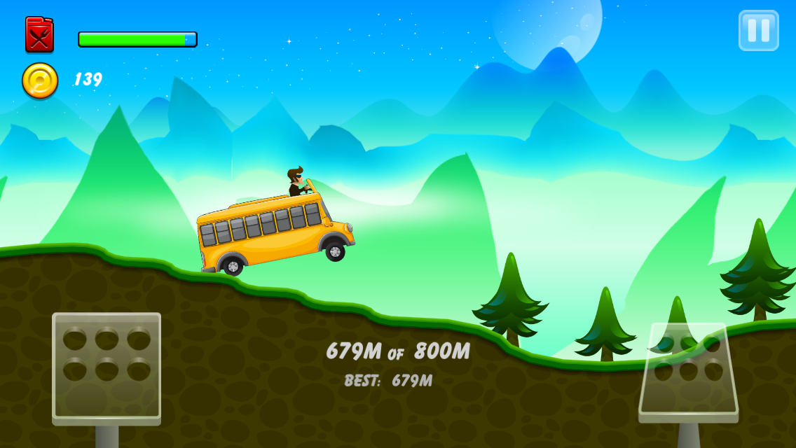 Hill Racing: mountain climb- screenshot
