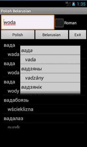 Belarusian Polish Dictionary