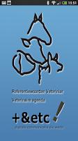 Screenshot of Referentiewaarden veterinair