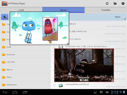 FTP Player (client) 2.0.0 screenshots 5