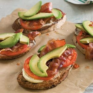 Avocado, Bacon & Tomato Tartines
