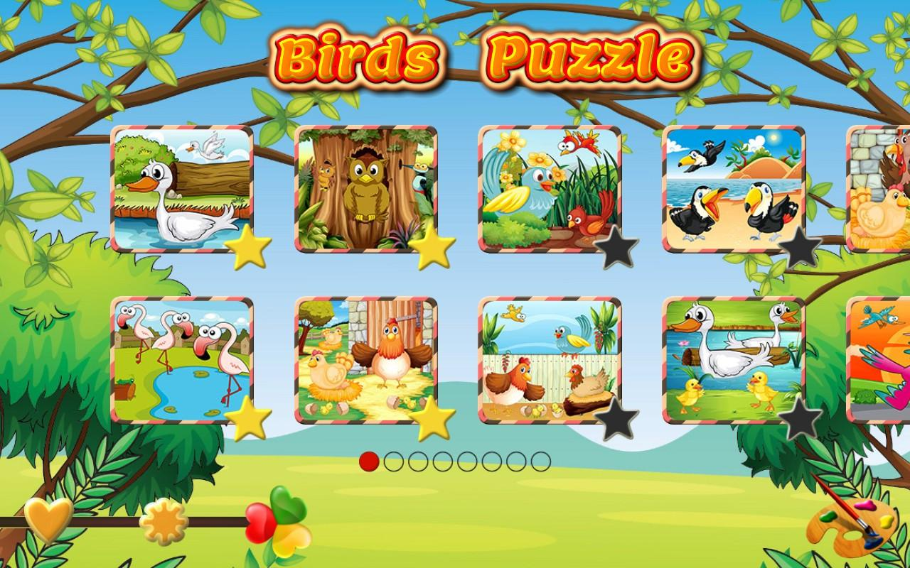 pet birds puzzle game for kids android apps on google play