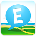 Eyeland – Chat, Post on Map logo
