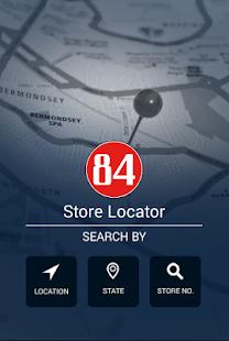 84 Lumber Store Locator Screenshot Thumbnail