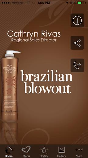 Cathryn Brazilian Blowout