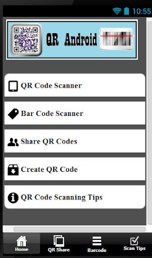 QR Android 1.7 screenshots 5