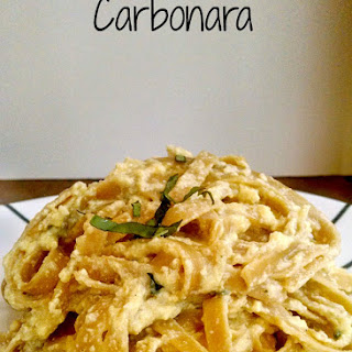Lemon Basil Carbonara.