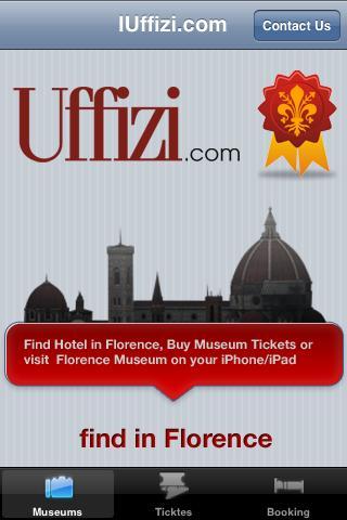 Uffizi Gallery Booking Tickets- screenshot