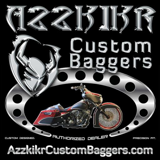 Azzkikr Custom Baggers LOGO-APP點子