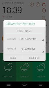 GidiWeather - Flat Weather UI screenshot 6
