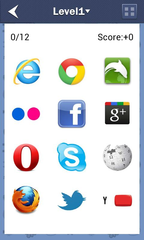 Logo Quiz by categories - screenshot