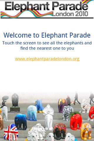 Elephant Parade (London)- screenshot