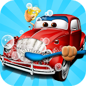 Car Wash Salon Kids Games