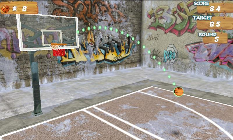 BasketBall 3D - screenshot
