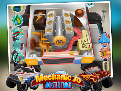 Mechanic Jo - Monster Truck- screenshot thumbnail