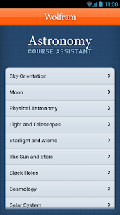 Astronomy Course Assistant - screenshot thumbnail