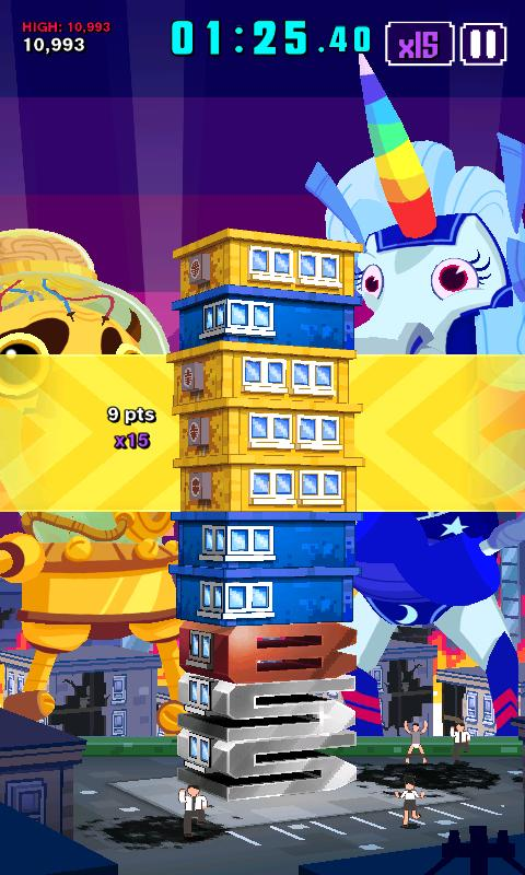 Super Monsters Ate My Condo!– captura de ecrã