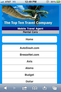 Personal Travel Agent - screenshot thumbnail