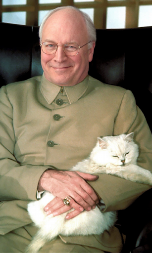 Dick Cheney cat Live WP