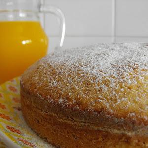 Orange and Vanilla Coffee Cake