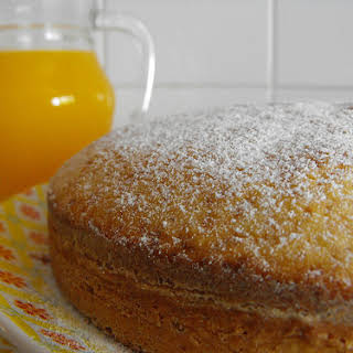 Orange and Vanilla Coffee Cake.