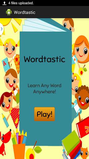 Wordtastic