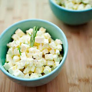 Marinated Feta Cheese.
