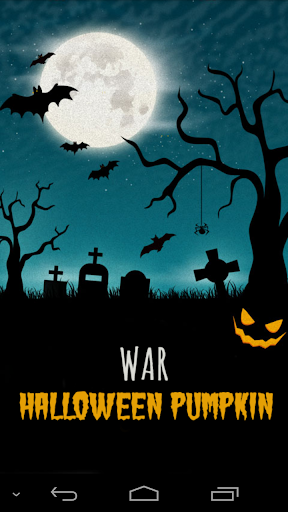 War Halloween Pumpkin