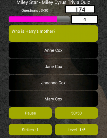 Miley Star - Miley Cyrus Quiz