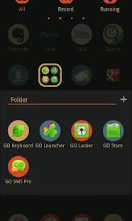 Pop GO Launcher Getjar Theme - screenshot thumbnail