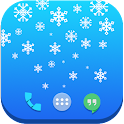 Snowflakes Live Wallpaper Free icon