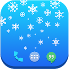 Snowflakes Live Wallpaper Free icon